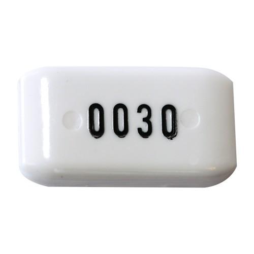 Schlüsselkapsel m. Nr. für Perlon-Bänder
