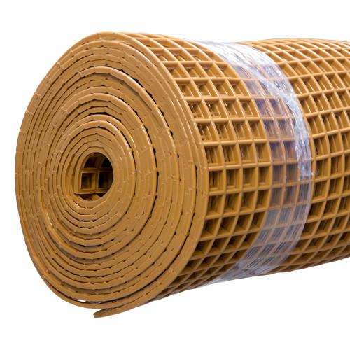 Gitter-Bodenmatte beige 100cm/10m Rolle