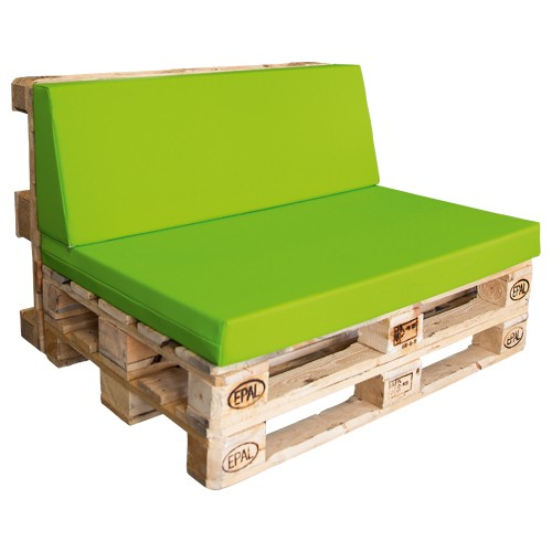 Kunstleder-Sitz- u. Rückenpolster f. Palettenmöbel