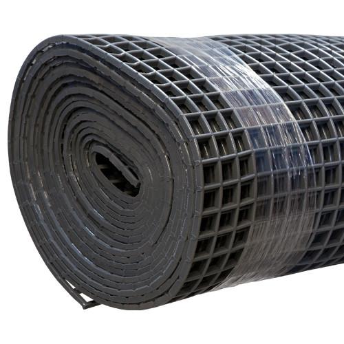 Gitter-Bodenmatte grau 80cm/10m Rolle