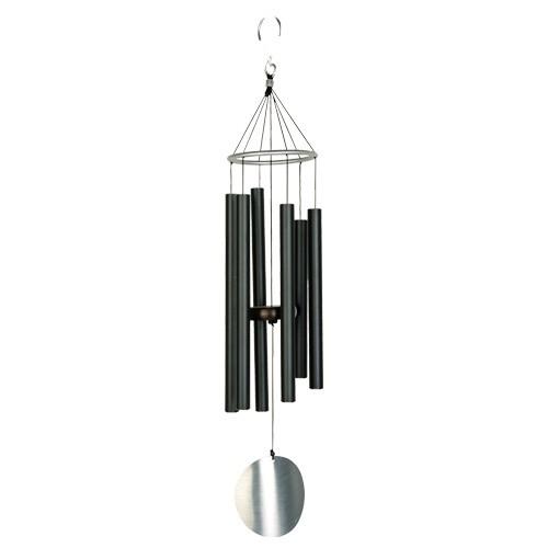 Klangspiel schwarz, 70 cm - Aluminium