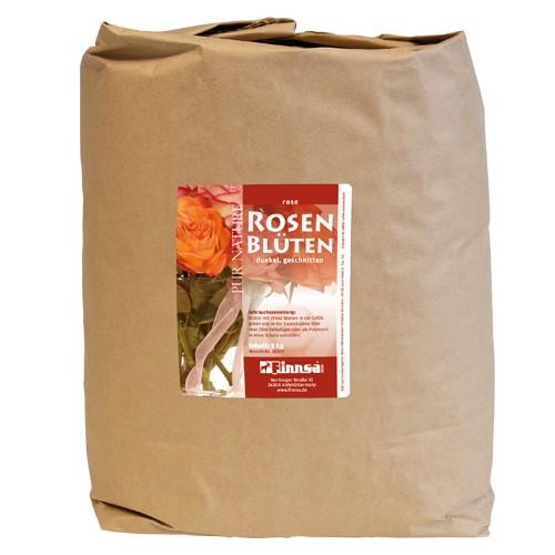 Rosenblütenblätter dunkel geschn. 3 kg