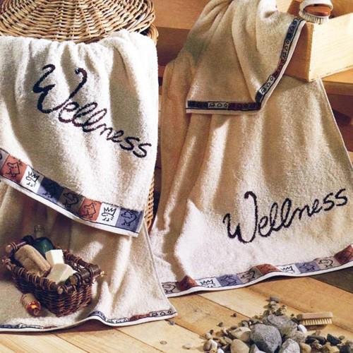 Liegetuch 180 x 70 cm - Motiv Wellness