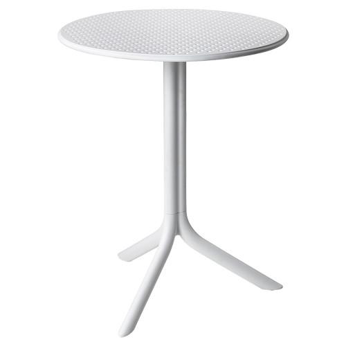 Tisch Step, rund, Ø 60,5 cm - weiß