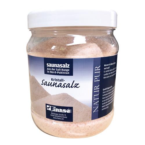 Kristall-Saunasalz, rötlich, 1000 g Dose