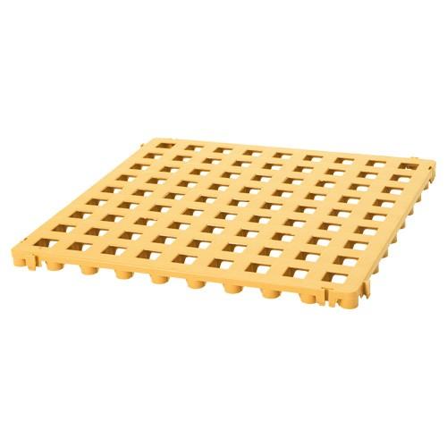 Kunststoff-Bodenrost Classic - Farbe: sandgelb