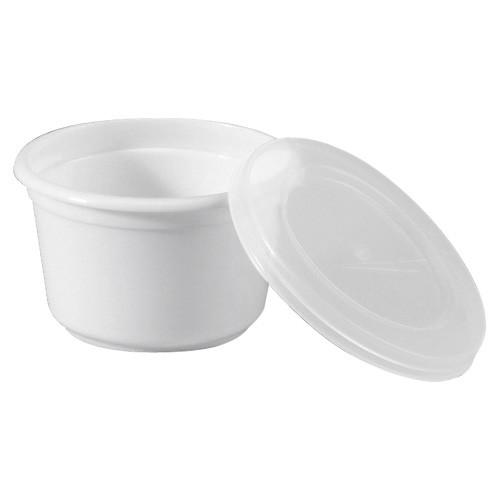 Portionsbecher 28 ml mit Deckel