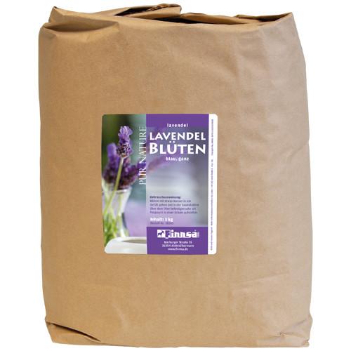 Lavendelblüten blau ganz 3 kg