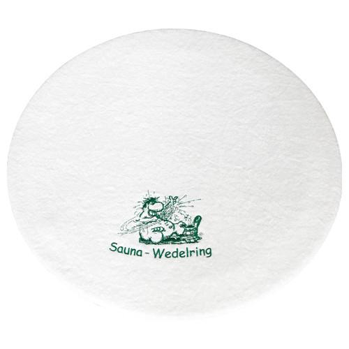 FINNSA-Wedelring Ø 60 cm, Frottierbezug weiß