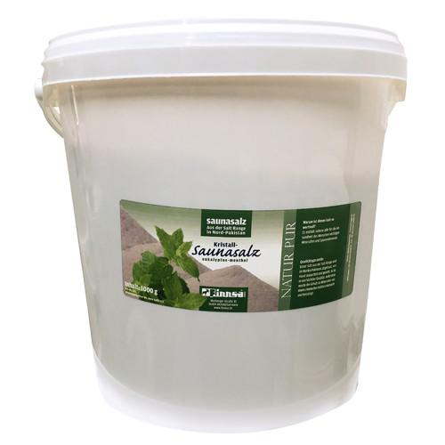Kristall-Saunasalz Euk./Menth. 10 kg Eimer