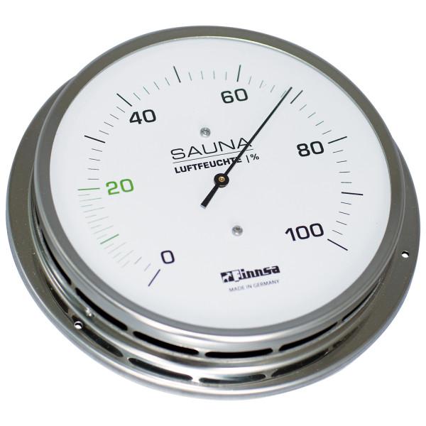 Sauna-Hygrometer mit Flansch 130 mm -Trend-
