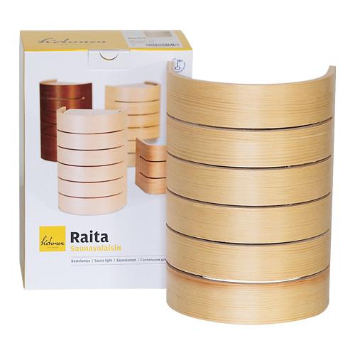 Sauna-Innenleuchte Raita - Kiefer