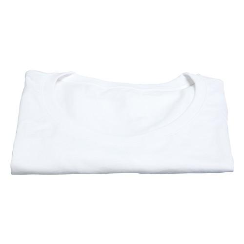 Damen T-Shirt, weiß - leicht tailliert, Gr.: L