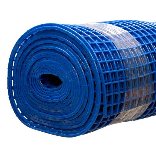 Gitter-Bodenmatte blau 80cm/10m Rolle