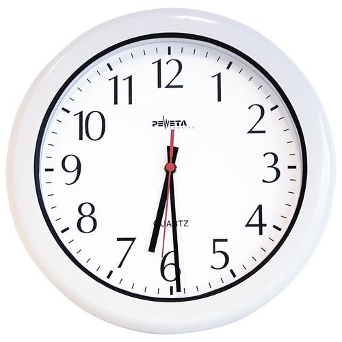 Feuchtraum-Uhr, Ø 300 mm