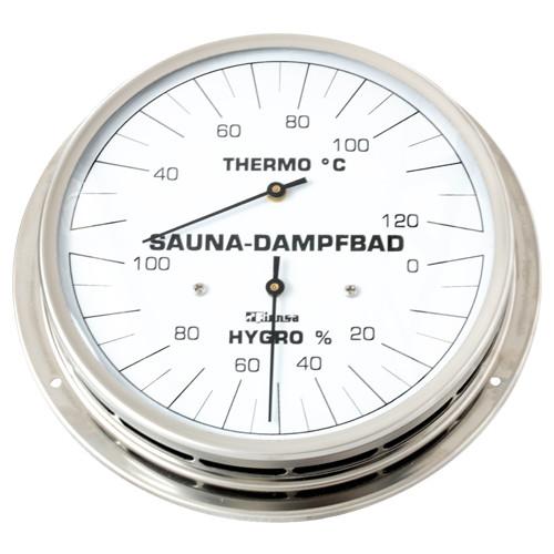 Dampfbad-Klimamesser mit Flansch 130mm