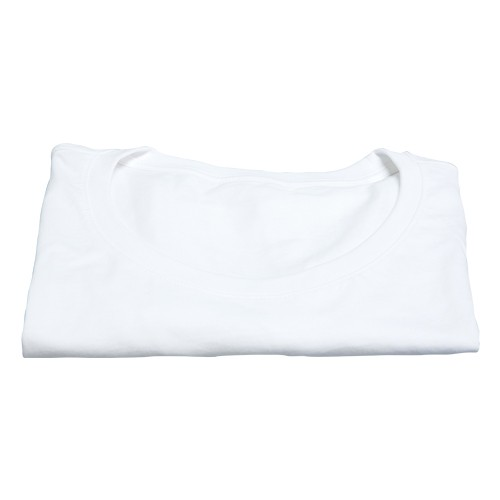 Damen T-Shirt, weiß - leicht tailliert, Gr.: M