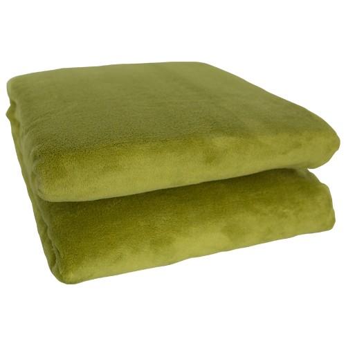 King Fleece Decke 150 x 200 cm - grün