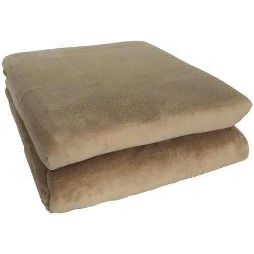 King Fleece Decke 150 x 200 cm - beige