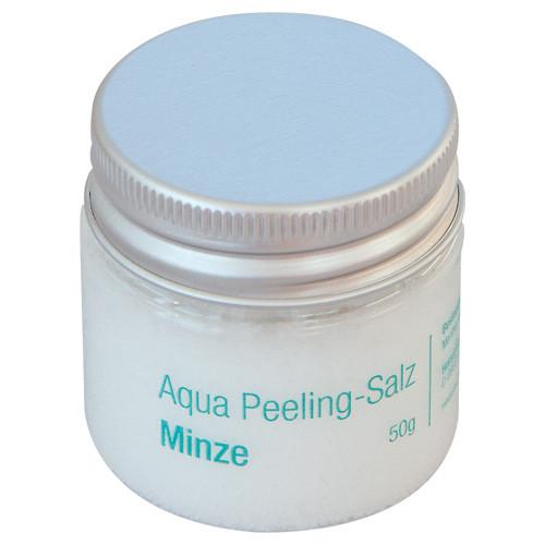 Aqua-Peeling-Salz Minze, 50g