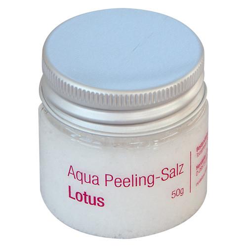 Aqua-Peeling-Salz Lotus, 50g
