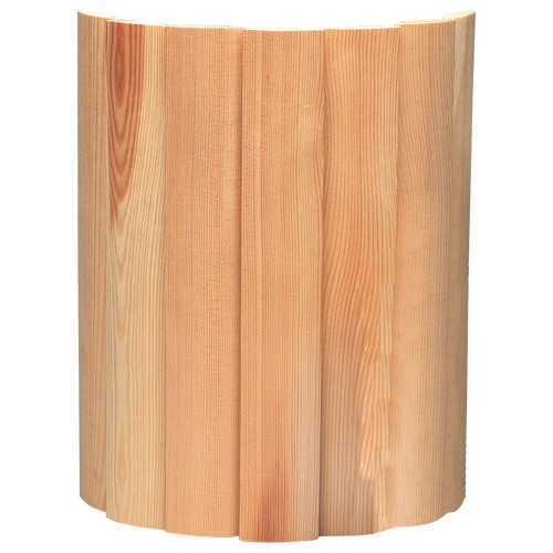 Holzverblendschirm für Wandleuchte Mikkeli