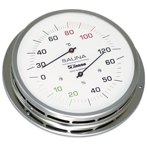 Sauna-Hygrotherm mit Flansch 130 mm -Trend-