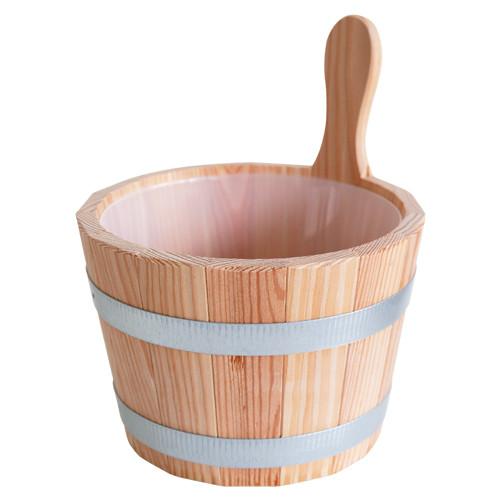 Sauna-Kübel 5 l - Griffdaube - mit 4,5 l Einsatz