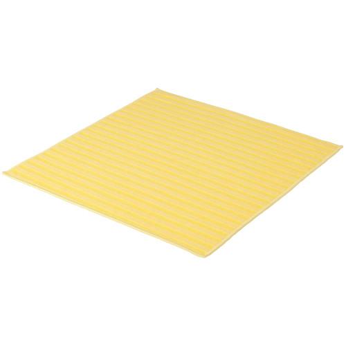 Microfasertuch mit Borsten 40 x 40 cm - gelb