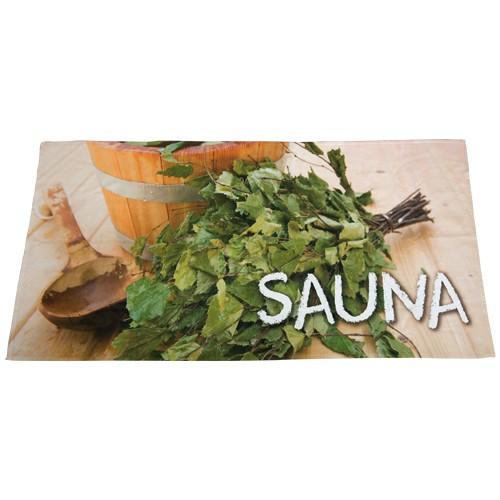 Sauna-Tuch 70 x 140 cm mit Sublimationsdruck