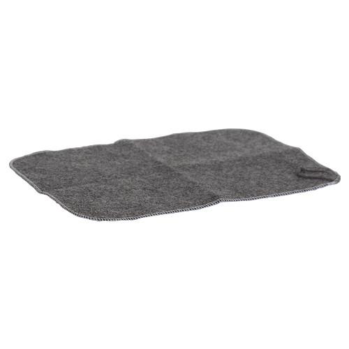 Sitzunterlage aus Filz, 45 x 32 cm - grau