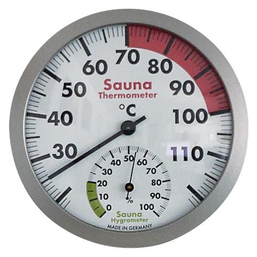 Sauna-Thermo-/Hygrometer, 120 mm Durchmesser