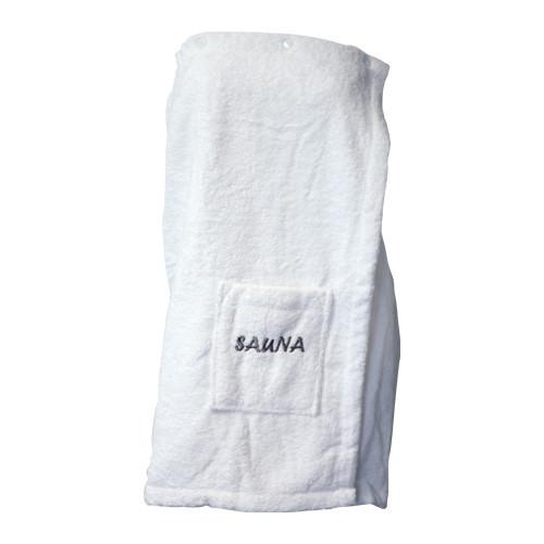 Damen Sauna-Kilt - 70 cm lang - weiß