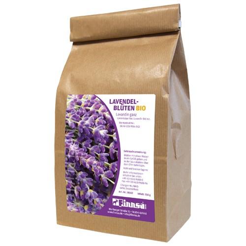 Lavendelblüten europäisch BIO ganz 350 g
