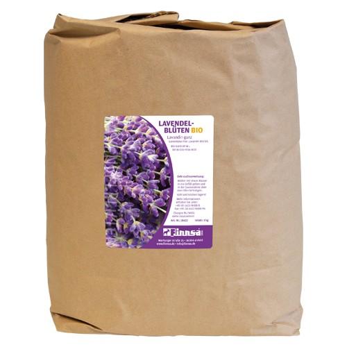 Lavendelblüten europäisch BIO ganz 3 kg