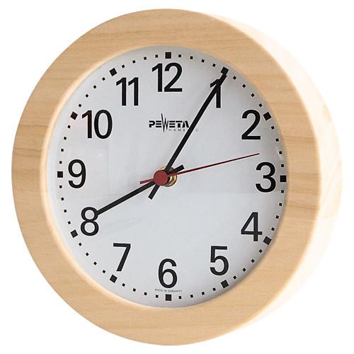 Wanduhr für Vorräume m. lautlosem Uhrwerk