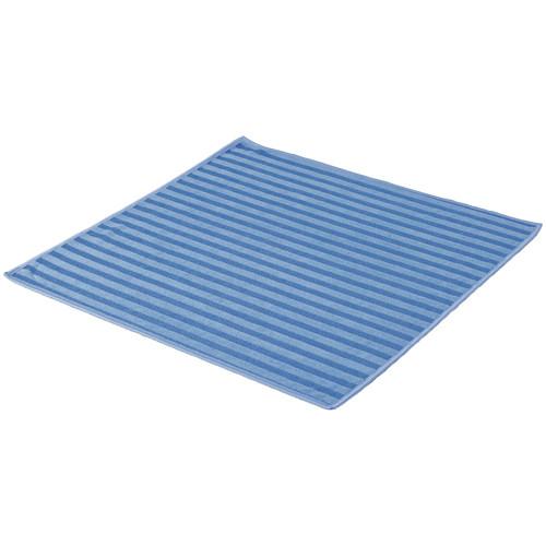 Microfasertuch mit Borsten 40 x 40 cm - blau
