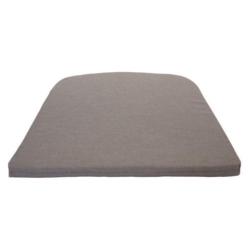 Sitzkissen für Stuhl Net - Farbe: grau