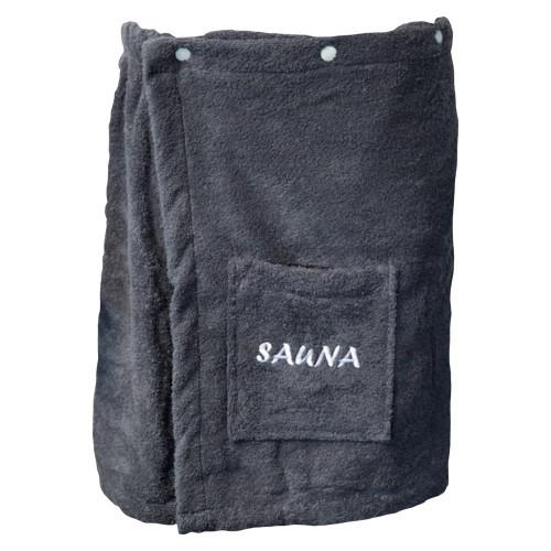 Herren Sauna-Kilt - 50 cm lang - anthrazit