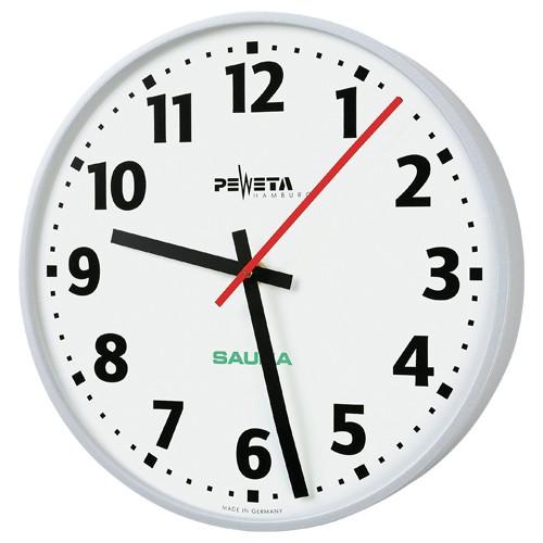 Sauna-Uhr XL, rund, Ø 300 mm - Spannfixhalterung