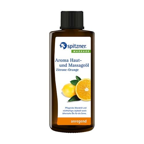 Haut- u. Massageöl Zitrone-Orange 190ml
